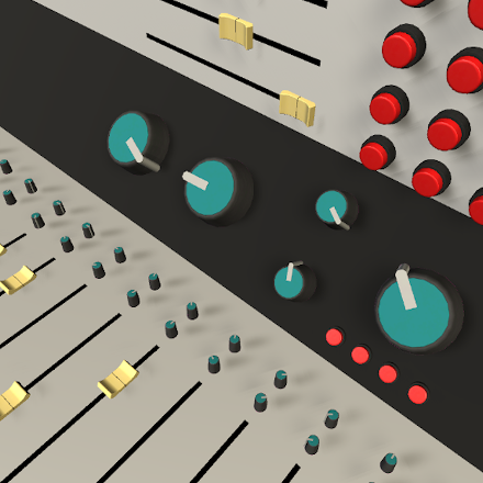 3D Interactive Knobs, Sliders and Buttons screenshot